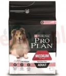 PROMO PURINA PRO PLAN PIES MEDIUM ADULT SENSITIVE SKIN ŁOSOŚ 14 KG + PVD FORTIFLORA 15 G GRATIS