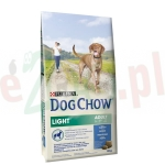 PURINA DOG CHOW LIGHT INDYK 14 KG