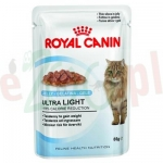 ROYAL CANIN CAT ULTRA LIGHT W GALARETCE 85 G ( odchudzanie obesity satiety kastraty )