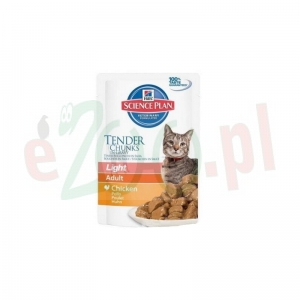 HILL'S FELINE ADULT LIGHT KURCZAK 85 G
