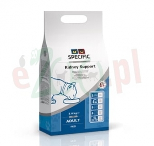 SPECIFIC CAT FKD KIDNEY SUPPORT 2 KG ( nerki renal serce niski fosfor )