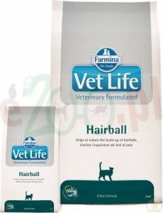 FARMINA VET LIFE HAIRBALL CAT 400G