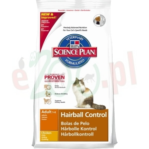 HILL'S FELINE ADULT HAIRBALL 5 KG ( kot )