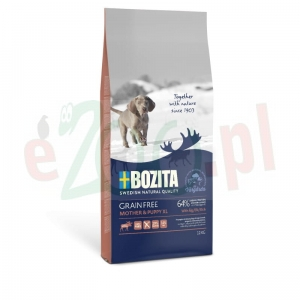 BOZITA DOG GF MOTHER & PUPPY XL Z ŁOSIEM 12 KG ( pies bezzbożowa )