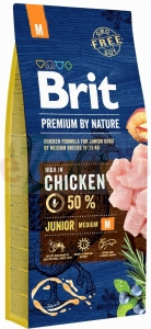 BRIT PREMIUM BY NATURE JUNIOR MEDIUM BREED 3 KG