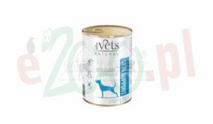 HIT 5+1Gratis 4VETS NATURAL - SKIN SUPPORT NEW DOG 400 G