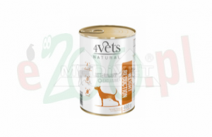 HIT 5+1Gratis 4VETS NATURAL - WEIGHT REDUCTION NEW DOG 400 G