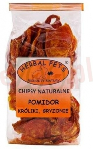 promo HERBAL PETS CHIPSY NATURALNE POMIDOR 40 G ( gryzonie )