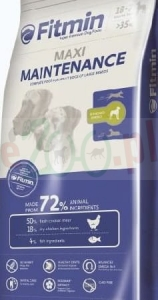 FITMIN DOG MAXI MAINTENANCE 3 KG ( pies kurczak chicken )