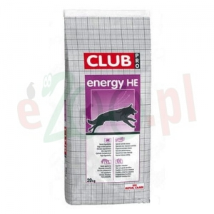 ROYAL CANIN CLUB ENERGY HE 20 KG