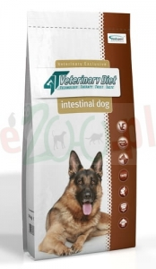 4T VETERINARY DIET DOG INTESTINAL 14 KG ( żołądek  jelita gastro )