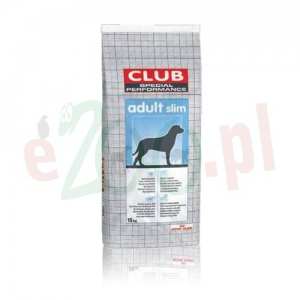 ROYAL CANIN CLUB SPECIAL PERFORMANCE SLIM 15 KG ( pies )