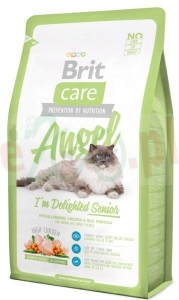 BRIT CARE CAT ANGEL I'M DELIGHTED SENIOR 400 G