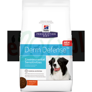 Extra pakiet 2 op. HILL S PD CANINE DERM DEFENSE 12 KG + Gratis ( 5 kg HILL'S PD CANINE K/D + MOBILITY odczulanie alergia skóra skin pies )