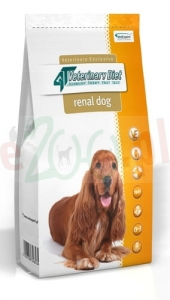 4T VETERINARY DIET DOG RENAL 14 KG ( urinary nerki )