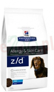 promo HILL'S PD CANINE Z/D MINI 1,5 KG  10178 ( pies alergia odczulanie )