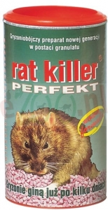 RAT KILLER PERFECT 100 G ( trutka gryzonie )