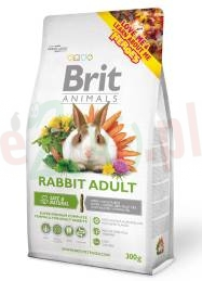 BRIT ANIMALS RABBIT ADULT COMPLETE 300 G
