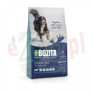 BOZITA DOG GRAIN FREE ADULT SENSITIVE SINGLE PROTEIN LAMB 3,5 KG ( bezzbożowa jagnięcina pies )