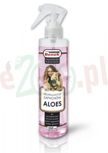 BENEK NEUTRALIZATOR ZAPACHÓW ALOES SPRAY 250 ML