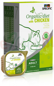 SPECIFIC CAT F-BIO-W CHICKEN 7 X 100 G