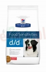 HILL'S PD CANINE D/D SALMON & RICE 5 KG 9115 ( alergia łosoś ryż pies skin sensitivities )