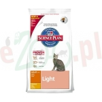 HILL'S FELINE ADULT LIGHT KURCZAK 0.3 KG