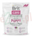 BRIT CARE PIES PUPPY GRAIN FREE SALMON & POTATO 1 KG