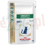 ROYAL CANIN CAT OBESITY 12 X 100 G SASZETKA