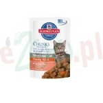 HILL'S SP STERILISED CAT SALMON 85 G