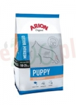 ARION ORIGINAL PUPPY MEDIUM SALMON  RICE 12 kg ( pies szczeniaki łosoś ryż )