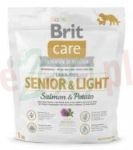 BRIT CARE PIES SENIOR LIGHT GRAIN FREE SALMON & POTATO 1 KG