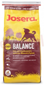 JOSERA DOG BALANCE - KURA / RYŻ 15 KG ( pies senior starsze light )