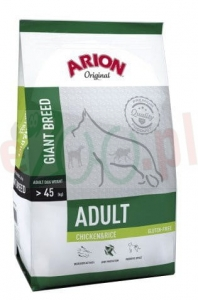 ARION ORIGINAL ADULT LARGE CHICKEN & RICE 12 KG ( dorosłe duże rasy )