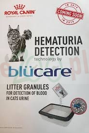 ROYAL CANIN HEMATURIA DETECTION blucare 20 G ( koty diagnostyka krwi w moczu )