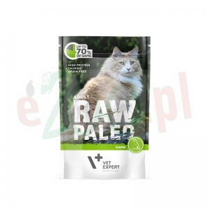 Hit PAKIET 5+1Gratis RAW PALEO ADULT CAT GAME 100 G ( koty )