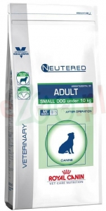ROYAL CANIN VCN NEUTERED ADULT SMALL DOG 3,5 KG + Gratis 5 g Fortiflora