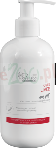 OVER VET LIVER 250 ML  ( pies ostropest karczoch wątroba hepatic koty psy )