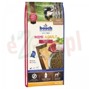 BOSCH MINI ADULT LAMB & RICE 15 KG