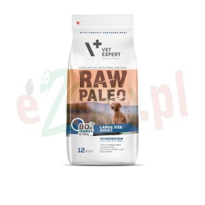 4T RAW PALEO DOG ADULT LARGE 2,5 KG  ( pies duże rasy )