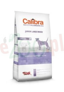 CALIBRA DOG HA JUNIOR LARGE BREED LAMB 14 KG 82002 ( pies alergia skin jagnięcina duże rasy )