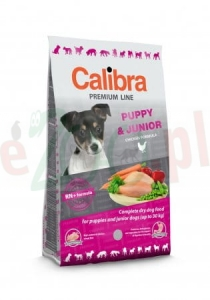 CALIBRA DOG NEW PREMIUM JUNIOR LARGE 12 KG 89744 ( pies młode duże rasy kurczak drób )