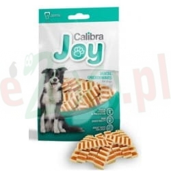 CALIBRA JOY DOG DENTAL CHICKEN WAVES 80 G 56046 ( zęby fetor stomatitis pies kurczak drób )