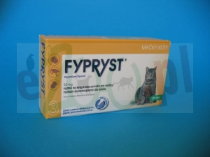 FYPRYST 50 MG KOT /3 PIPETY/