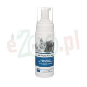 promo FRONTLINE PET CARE CLEANSING FOAM - PIANKA MYJĄCA 2W1 150 ML  ( pies kot )