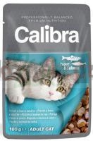 promo CALIBRA CAT ADULT TROUT & SALMON 100 G 62856 ( kot ryby )