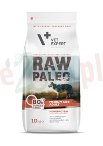 4T RAW PALEO DOG ADULT MEDIUM 10 KG  ( pies średnie rasy )