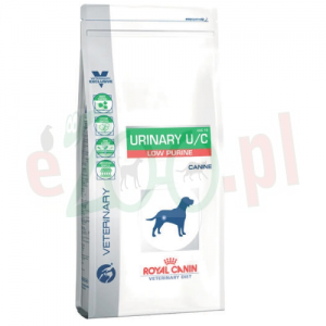 ROYAL CANIN DOG URINARY U/C LOW PURINE 14 KG ( nerki ) + Gratis 5g Fortiflora