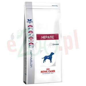 ROYAL CANIN DOG HEPATIC 12 KG ( pies wątroba jelita )
