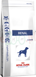 ROYAL CANIN DOG RENAL 14 KG ( nerki kidney urinary )